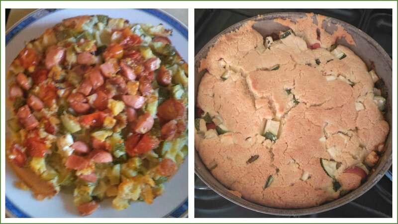 crumble courgettes tomates