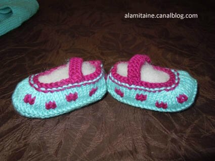 chaussons 40