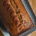 Cake aux amandes, miel & fève tonka