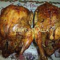Poulets juteux