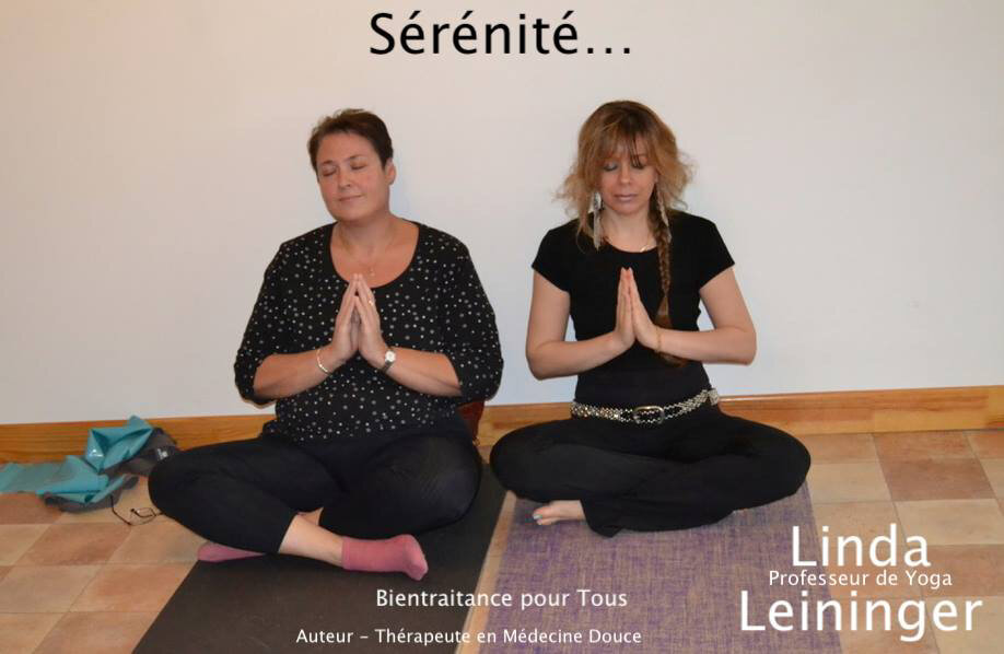 Linda Leininger Professeur de Yoga certifié WYA (World Yoga Alliance International)