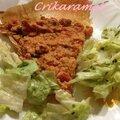 Pizza croustillante au thon