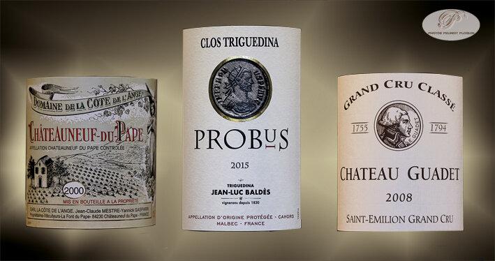 Vins_accompagnant_les_viandes_maturees_CHATEAUNEUF_DU_PAPE_PROBUS_CHATEAU_GUADET