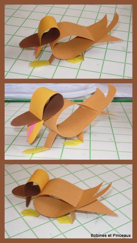 canard en papier