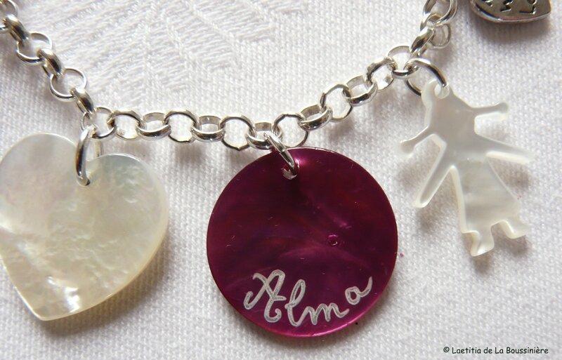 Bracelet personnalisé (naissance)
