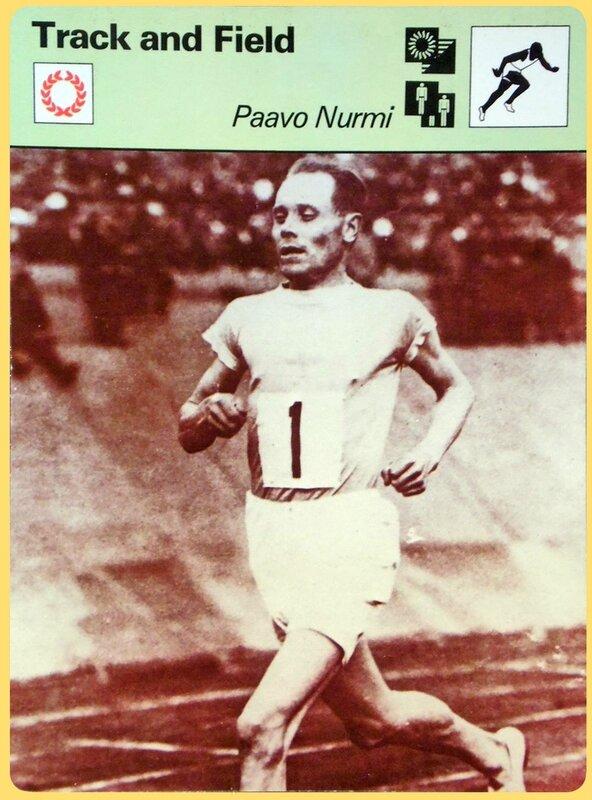 Fiche Paavo Nurmi
