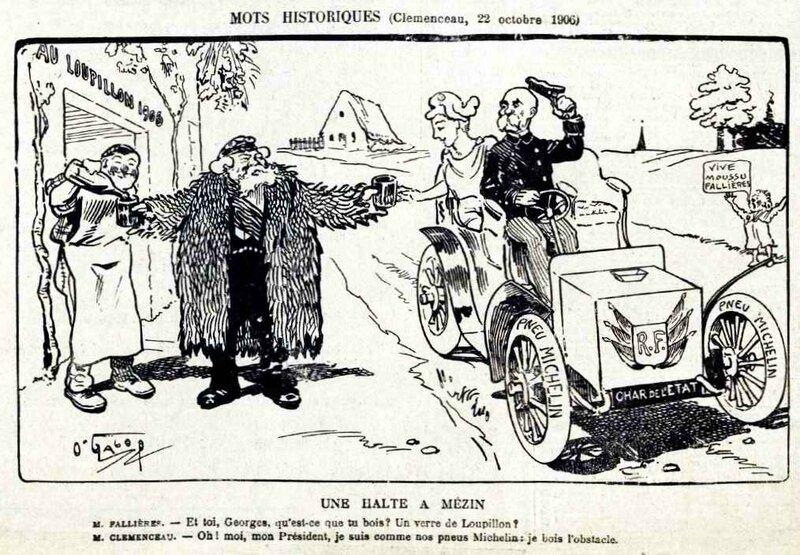 clemenceau le rire 17 11 1906