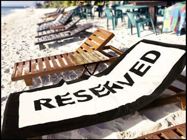 coolgift serviette de plage reserved 1