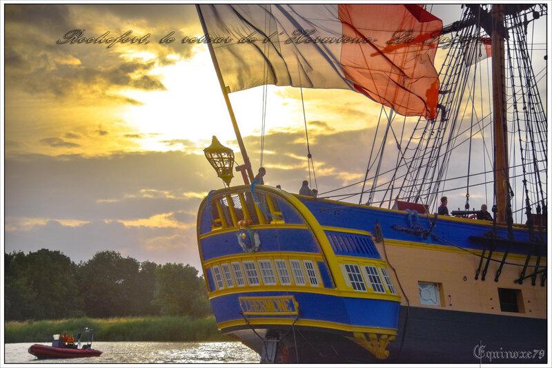 Revivez le retour de l'Hermione - La Fayette à Rochefort (4)