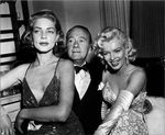 1953_jean_negulesco_party_bacall_clifton_web_1
