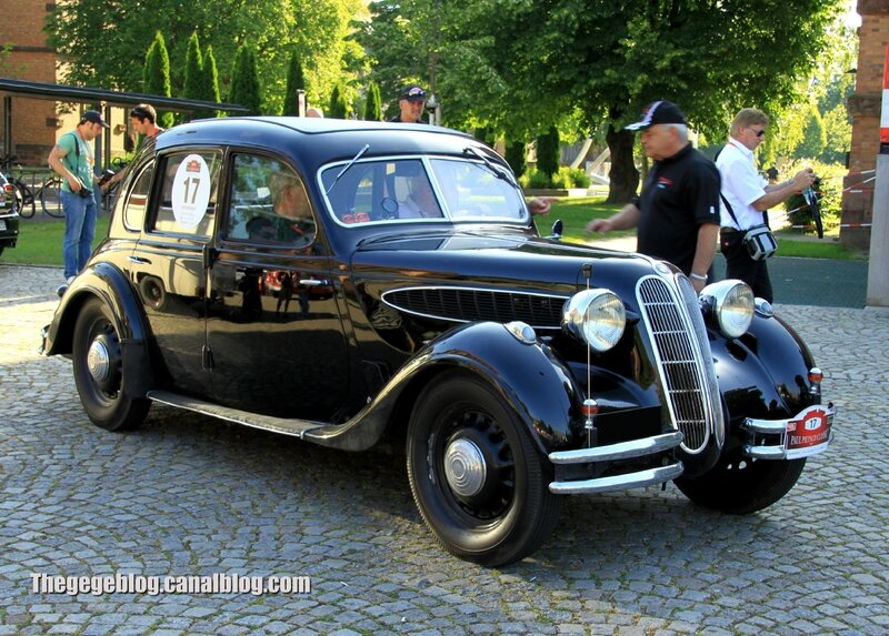 Bmw 326 berline de 1937 (Paul Pietsch Classic 2014) 01