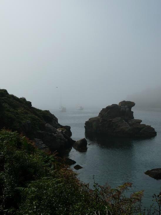 Brume au Port Saint-Nicolas