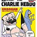Turquie: 4 journalistes de charlie hebdo inculpés pour «insulte» à erdogan