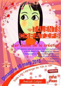 Salon talents créatifs Amicale