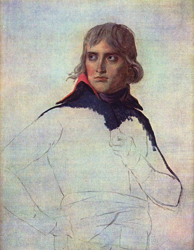 Bonaparte par Jacques-Louis David