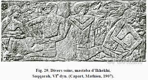 45 Sarcophage d'Ankhmahor, médecin de Saqqarah