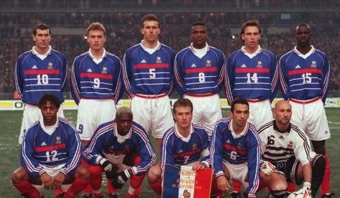 25 janvier 1998 FRANCE-ESPAGNE