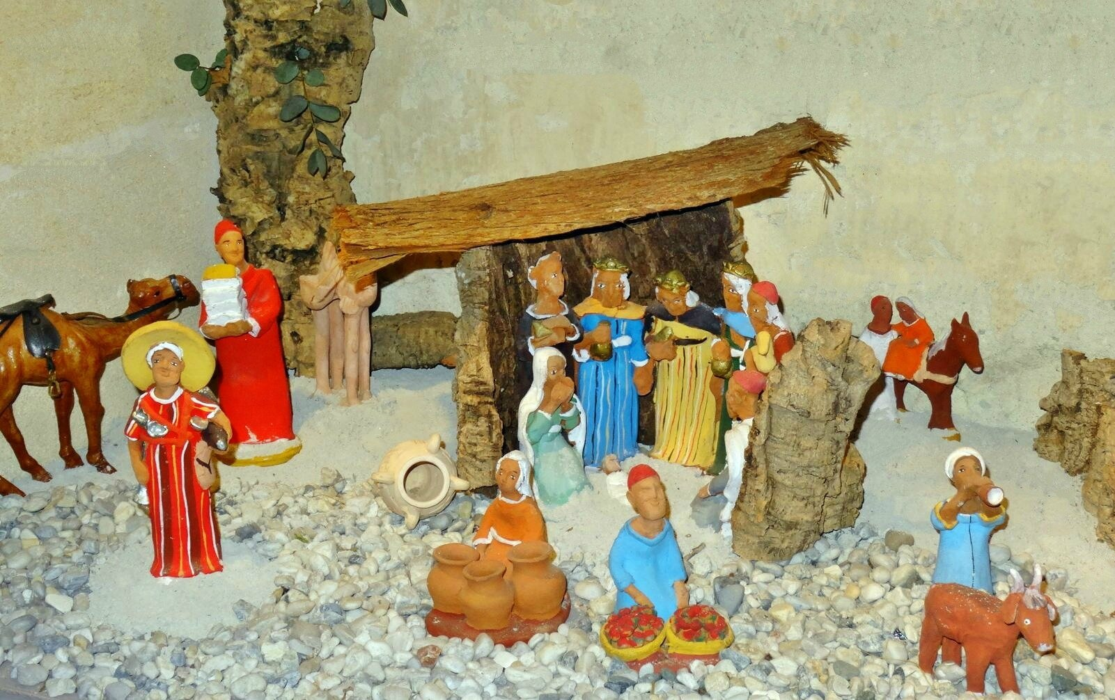 Crèches Eglise CASTELMORON d'ALBRET 7 décembre 2018 (22)