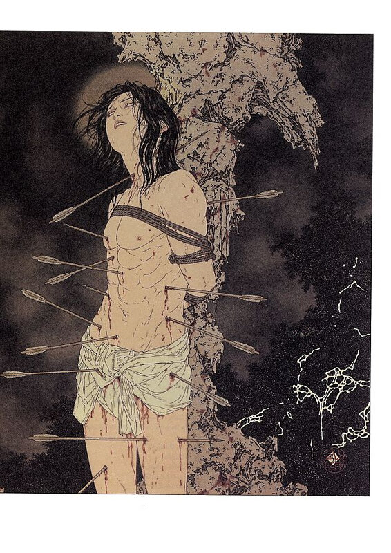 CanalBlog Artbook Takato Yamamoto Divertimento For A Martyr010