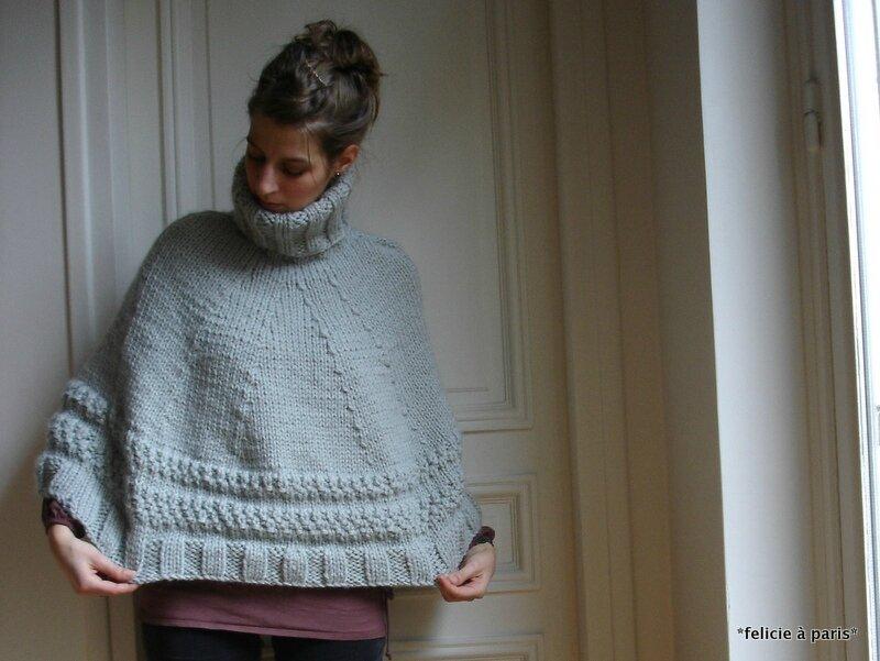 f833ce5b991 Modele gratuit de poncho a tricoter - kop cabiste