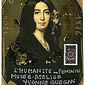 #31 george sand née aurore lucile dupin, baronne dudevant(1804- 1876) par cécile carpena