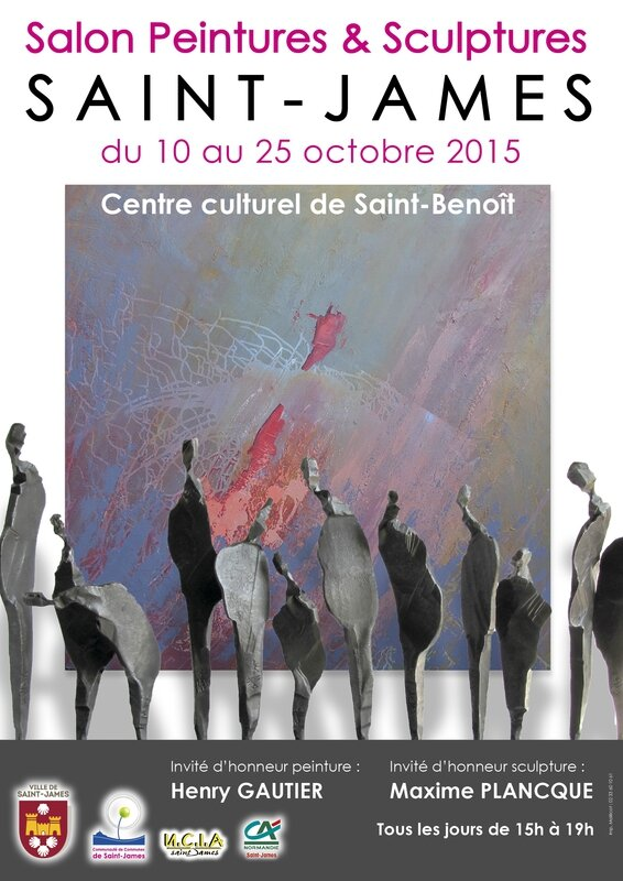 Affiche salon 2015 St-James