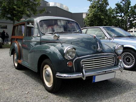 MORRIS Minor 1000 Traveller 1956 1971 RegioMotoClassica 2010 1