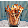 Sticks sucrés (thermomix ou pas )