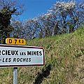 Balade à Sourcieux-les-Mines ( Rhône ) le 26.03.2019