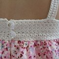 Top crochet & liberty ... suite ...