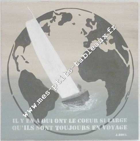 Globe, Citation Brel