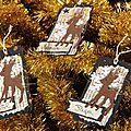 Des étiquettes pour les cadeaux !