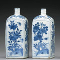 Two blue and white porcelains, transitional period @ bonhams san francisco