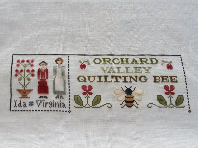 Orchard Valley Quilting Bee - Little House Needleworks