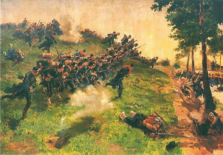 sergent, troupes de marine à Bazeilles