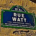 La rue watt fait peau neuve.