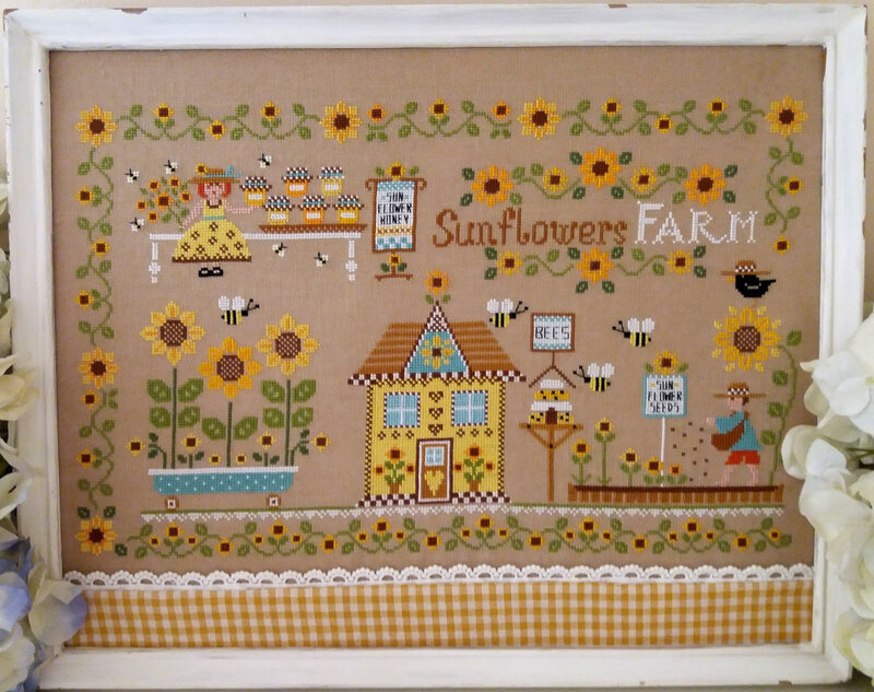 sunflowers farm 1