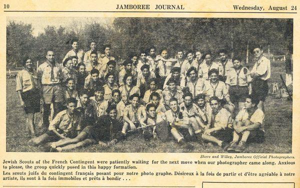 1955-8- Jamboree Canada, Délégation E I F