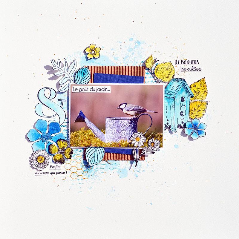 blogorel page creablabla oiseau loreeduscrap
