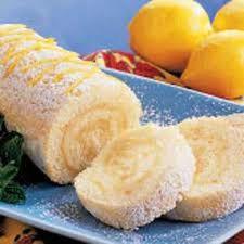 Biscuit roule citron