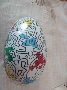oeuf Keith Haring