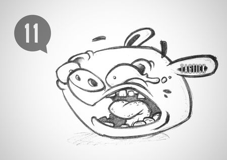 AngryBirds_GreenPigSketch
