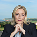 Réaction de marine le pen à l'émission de f.hollande