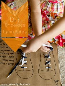 DIY-Shoe-Lace-Tying-Board