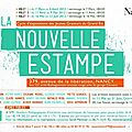 La nouvelle estampe à nancy