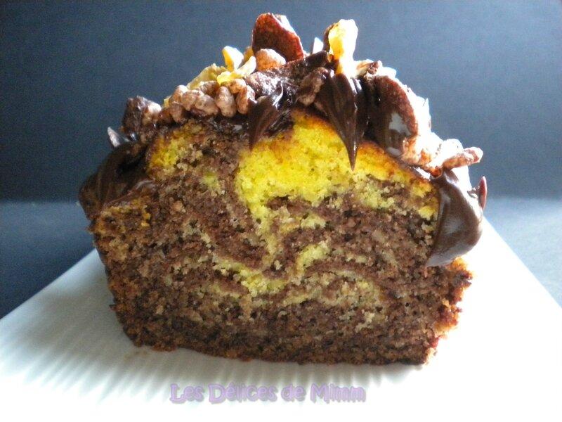Cake marbré crousti-moelleux 4
