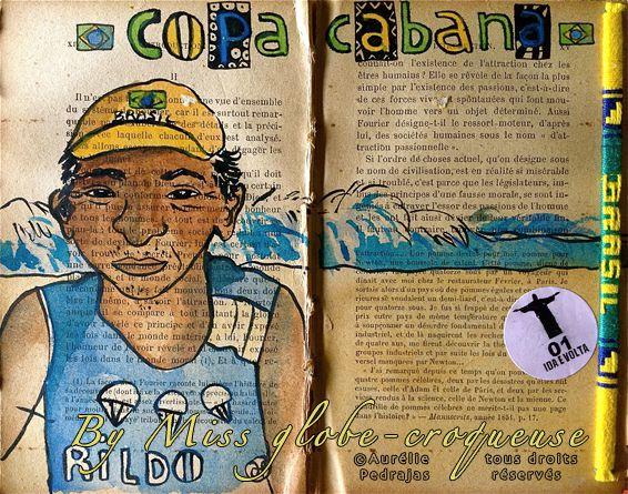 carnet de voyage Rio- copacabana rildo