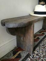vieux banc en bois 2