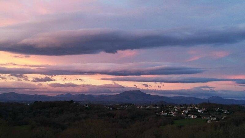 Mouguerre, lever de soleil, janvier