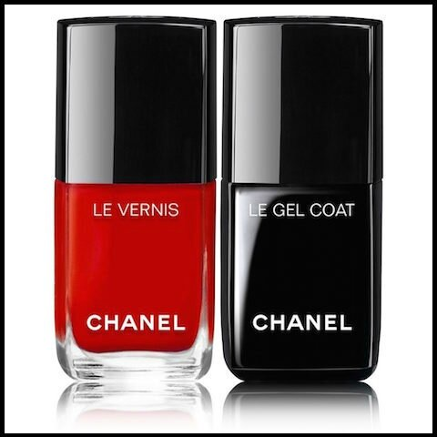 chanel le duo vernis longue tenue et gel coat